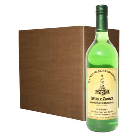 Grüner Zauber 12 Flaschen