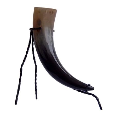 Trinkhorn 0.7 Liter inkl. Trinkhornständer