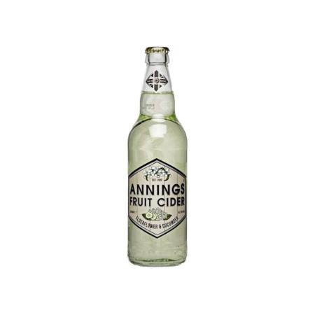Annings Cider – Elderflower & Cucumber