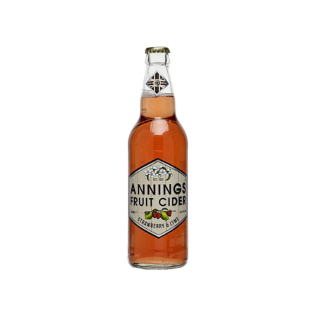 Annings Cider – Strawberry & Lyme