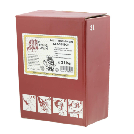 3 Liter Bag-in-Box Amensis Classic-Met