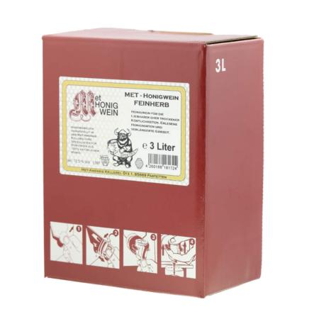 3 Liter Bag-in-Box Amensis Feinherber-Met