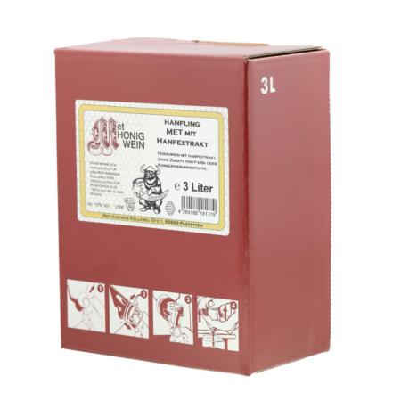 3 Liter Bag-in-Box Amensis Hanf-Met