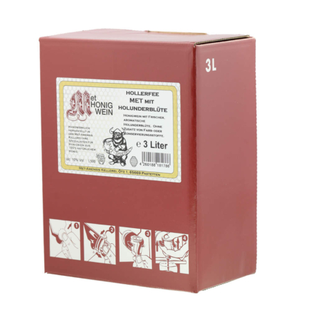 3 Liter Bag-in-Box Amensis Holunder-Met