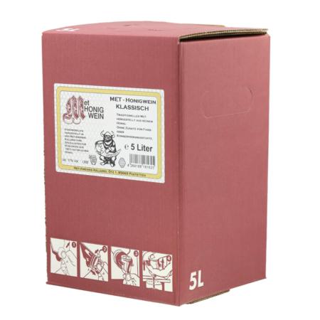 5 Liter Bag-in-Box Amensis Classic-Met