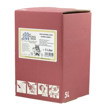 5 Liter Bag-in-Box Amensis Kirsch-Met mit Ingwer