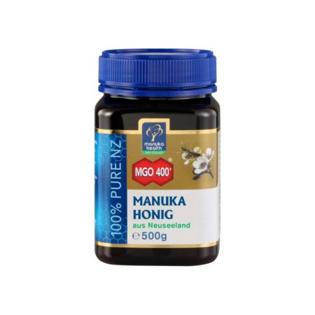 MGO 400+ Manuka-Honig, 500g