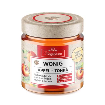 Wonig Apfel-Tonka bio, 225g