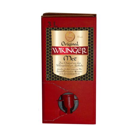 3 Liter Bag-In-Box Wikinger Met Original
