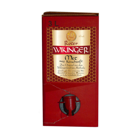 3 Liter Bag-In-Box Wikinger Met Rot