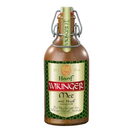 Wikinger Met – Hanf in Tonflasche